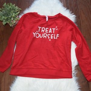 [Xhilaration] Red Christmas Sweatshirt XL NWOT